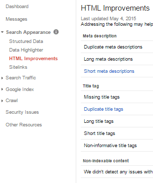 HTML-Improvements