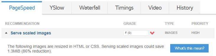 large images ruining site optimization