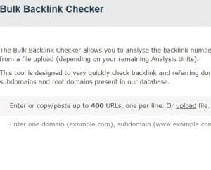 majestic bulk backlink checker